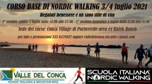 Vieni a scoprire il nordic walking ufficiale della Scual Italiana Nordic Walking